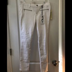 Love Fire skinny white jeans